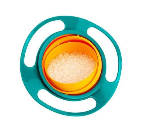 Anti-Spill Baby Feeding Bowl - Infant Kingdom