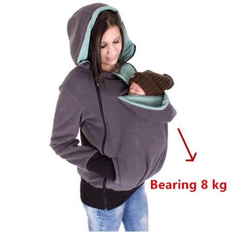 Baby Carrying Winter Hoddie - Infant Kingdom