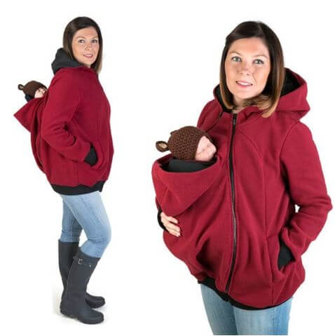 Winter Baby Carrying Hoddie - Infant Kingdom