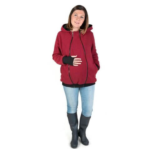 Baby Carrying Winter Hoodie - Infant Kingdom