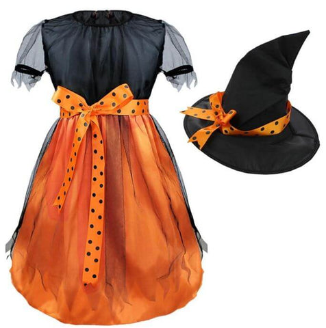 Halloween Girls Witch Dress - Infant Kingdom