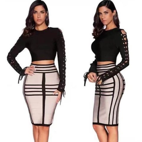 Bodycon Bandage Outfit - Infant Kingdom