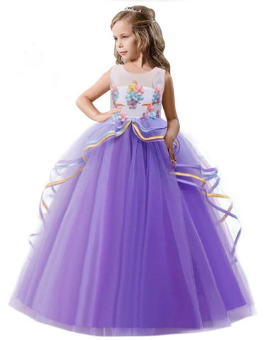 PrincessBall Gown layered lace