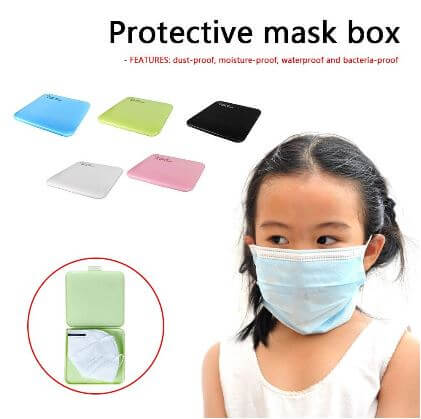 Kids Mask Storage Box - Infant Kingdom
