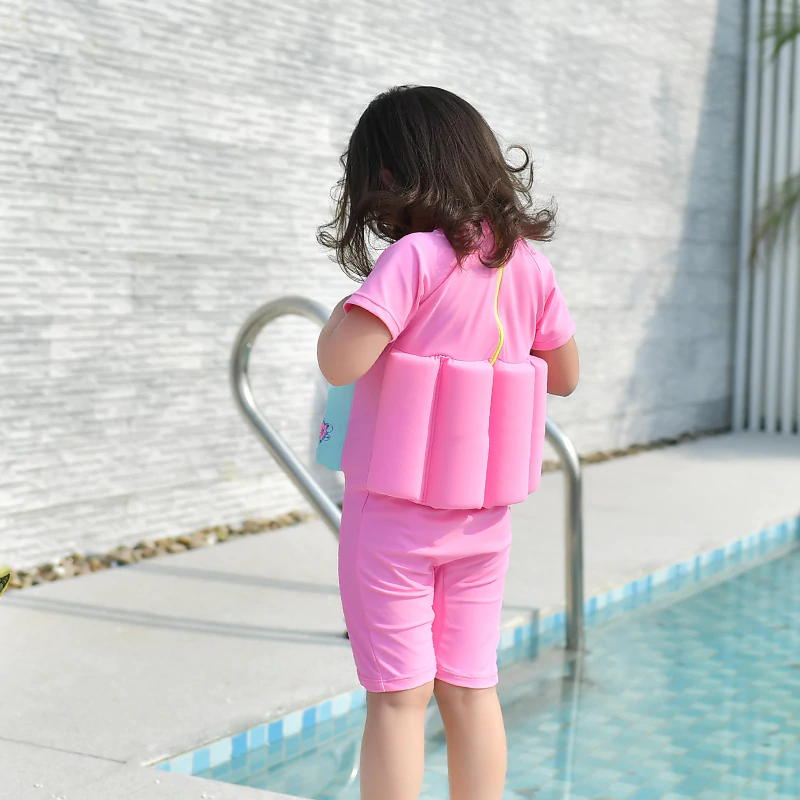 Kids Swimwear With Floating Buoyancy Sticks - Infant Kingdom