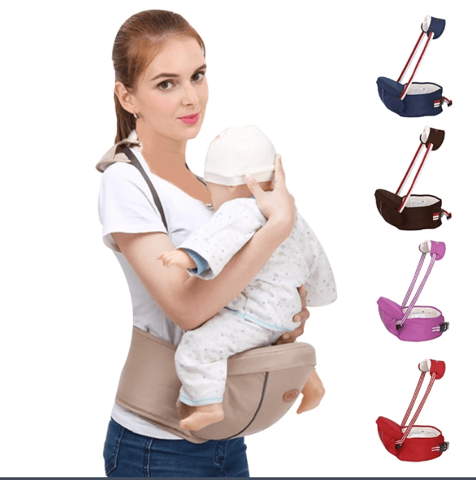 Infant Baby Sling Hip Seat Carrier With Support Belt - Infant Kingdom