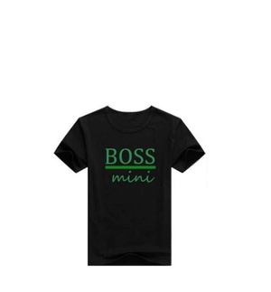 Father & Son Boss Man Boss Mini T-shirts - Infant Kingdom