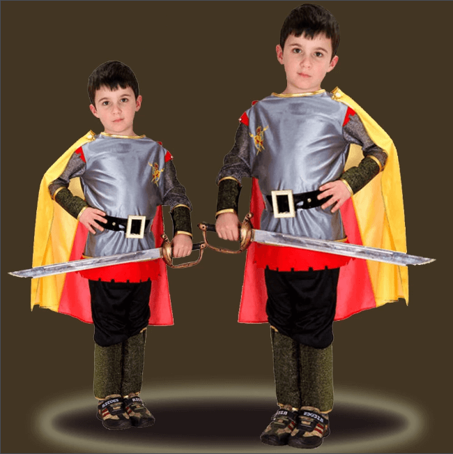 4PCS Cosplay Hero Costume for Halloween Party - Infant Kingdom