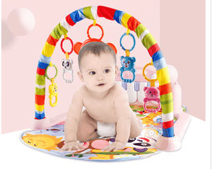 3 in 1 Baby Gym Play Mat With Piano Keyboard - Infant Kingdom