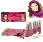 Kids Loom Knitting Hobby Tool Kits with Knitting Wool - Infant Kingdom