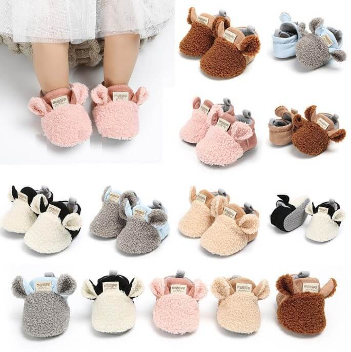 Soft Sole Cotton Baby Boots - Infant Kingdom