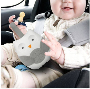 Portable Baby Soother Music Player Owl