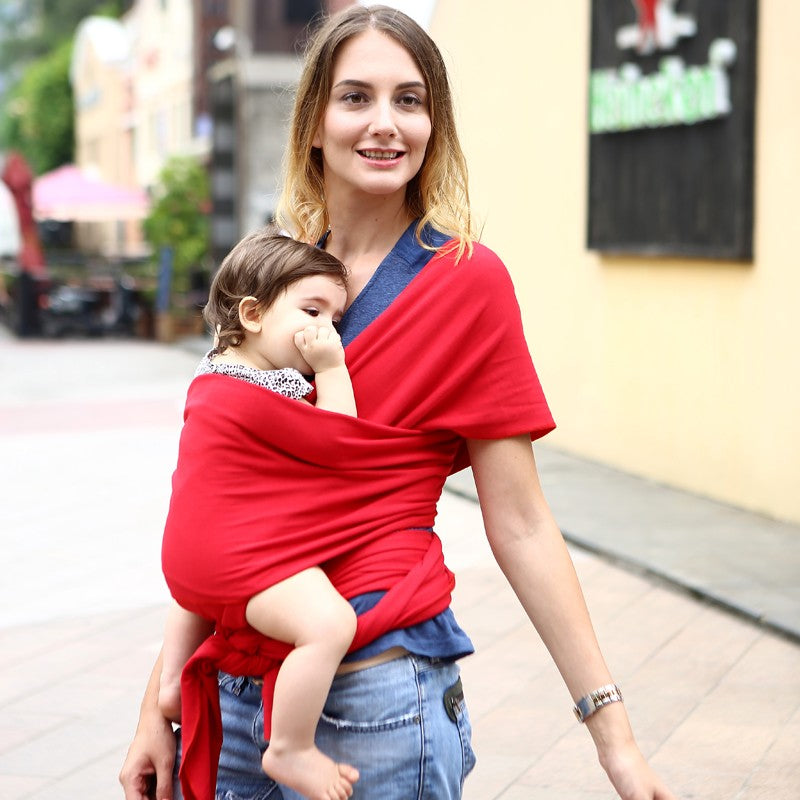 Trendy Infant Sling Soft Natural Wrap Baby Carrier - Infant Kingdom