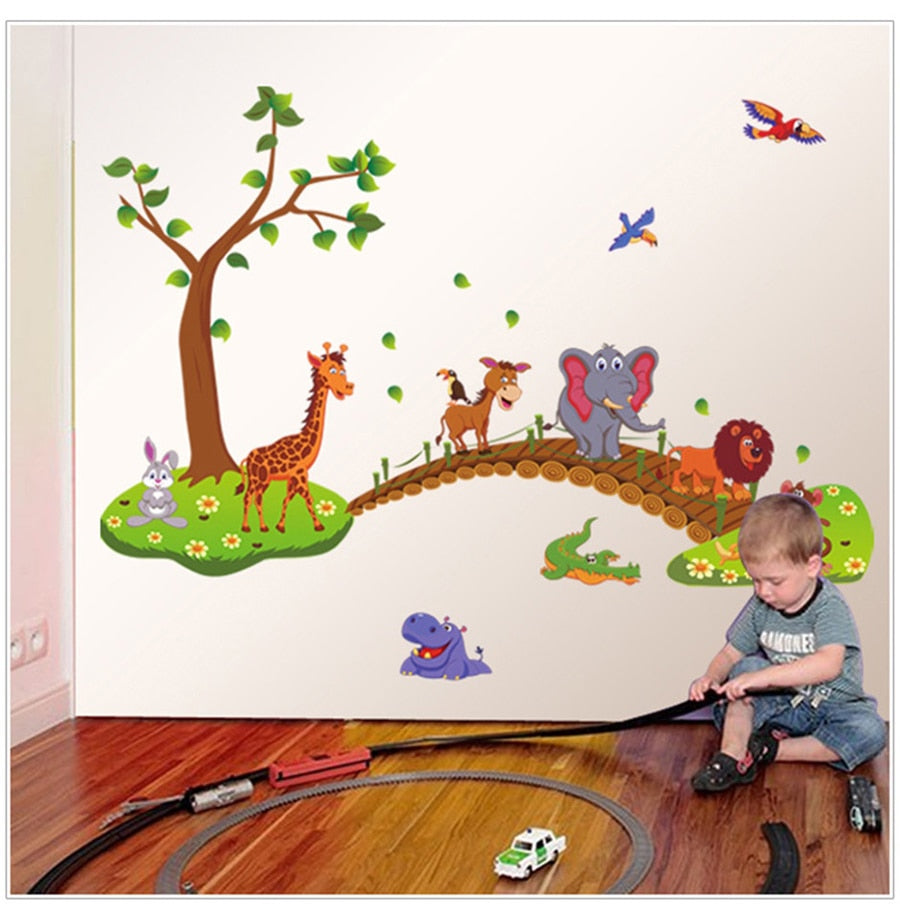 3D Children Wall Decals Nursery Poster - Infant Kingdom