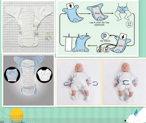 Reusable Washable Baby Diaper Nappy Inserts - Infant Kingdom