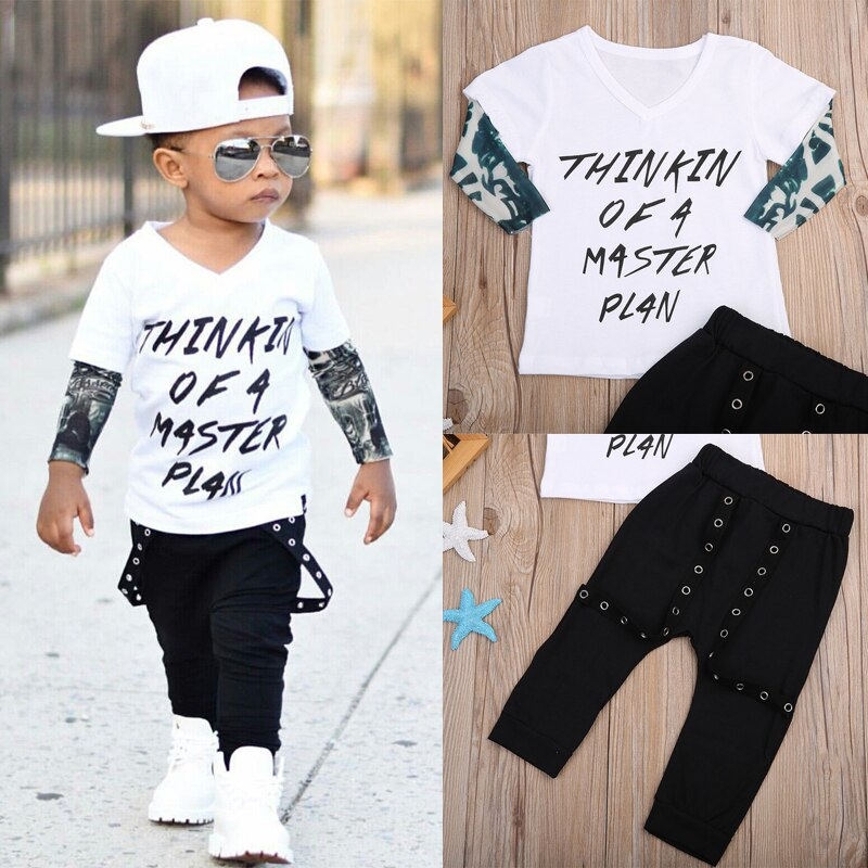 Infant Tattoo Sleeve 2pcs Suit - Infant Kingdom