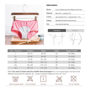 Period Leakproof Women's Cotton Breathable Knickers - Infant Kingdom