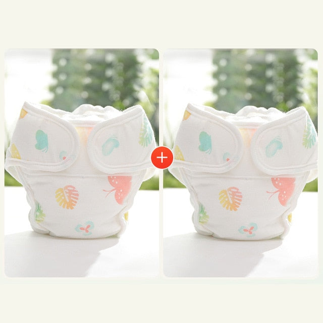 Environmentally Friendly Reusable Cotton Diapers Nappies - Infant Kingdom