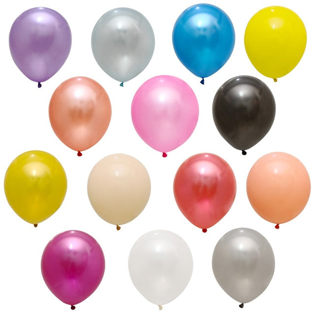 Latex Ballons for Kids, Birthday, Wedding, Graduation Party Decor - Infant Kingdom