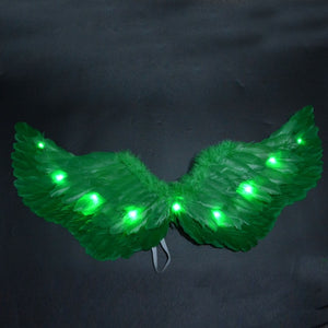 LED Light Princess Luminous Angel Wing Tutu Skirts - Infant Kingdom