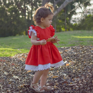 Baby Girl Matching Clothes Lace Romper & Tutu Dress - Infant Kingdom