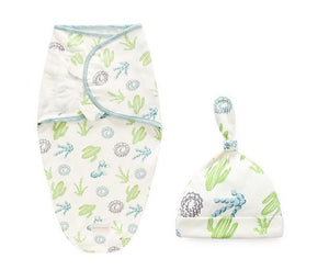 Newborn 2Pcs/Set Cotton Baby Swaddle - Infant Kingdom