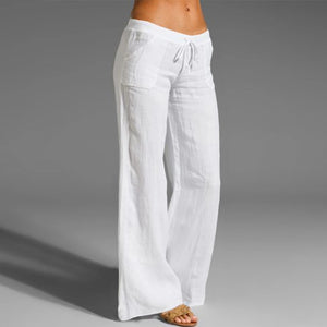 Women Linen Trousers - Infant Kingdom