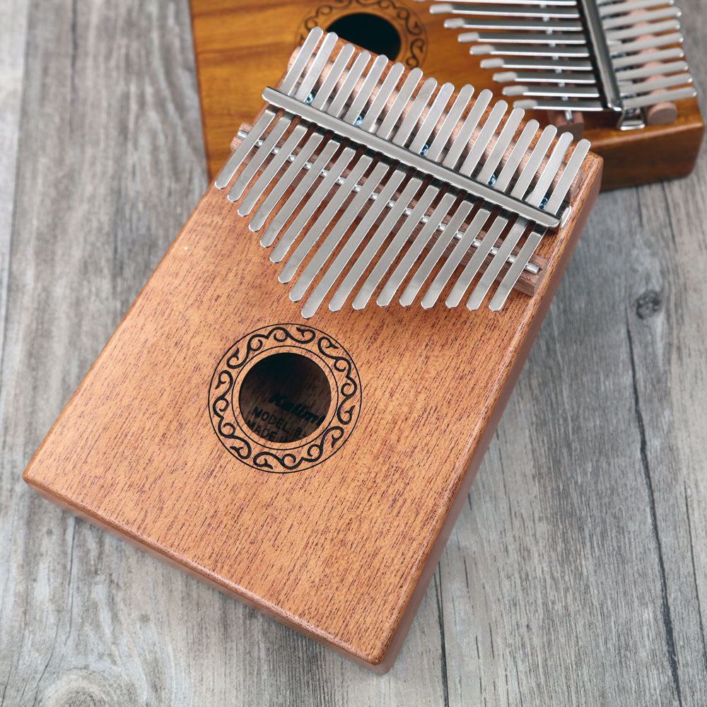 Mbira Kalimba 17 Key Thumb Piano For Kids - Infant Kingdom
