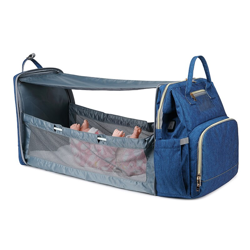 Baby Crib Diaper Bag - Infant Kingdom
