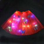 Girls Kids Women LED Light Up Tulle Tutu Skirt - Infant Kingdom