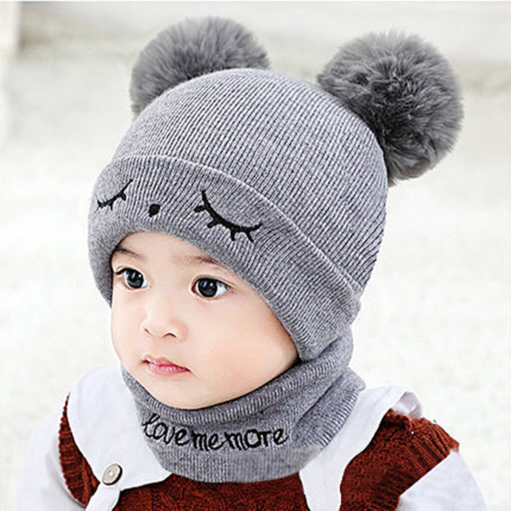 Pom pom hats for babies