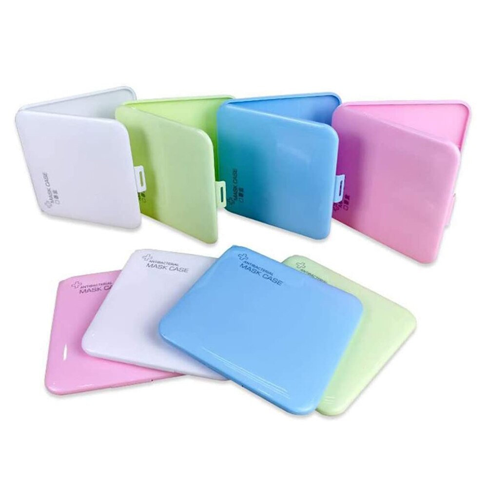 Kids Waterproof Dustproof PP Mask Storage Box - Infant Kingdom