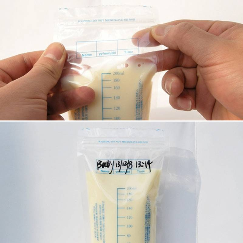 Breast Milk & Baby Food Freezer Storage Bags - Infant Kingdom