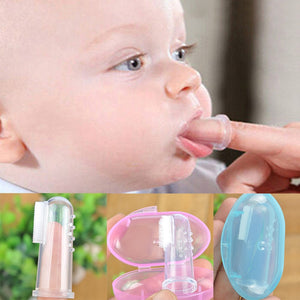 Baby Finger Silicone Toothbrush - Infant Kingdom