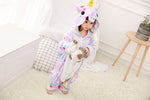 Rainbow Unicorn Children Pyjama for Girls Boys Onesie - Infant Kingdom