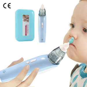 Electric Baby Nasal Aspirator Nose Cleaner - Infant Kingdom