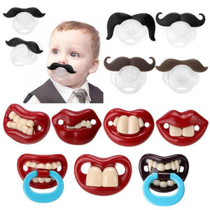 Funny Baby Pacifier & Teether - Infant Kingdom