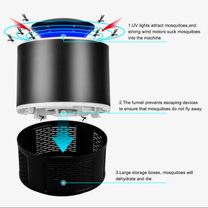 USB Anti Mosquito Trap LED Night Light Lamp - Infant Kingdom