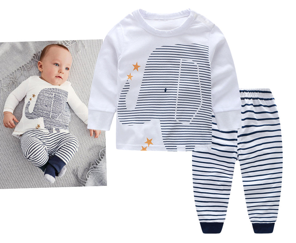 New Style Baby Boy Elephant Clothing Set - Infant Kingdom