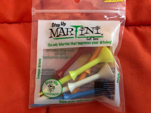 STEP UP MARTINI GOLF TEES
