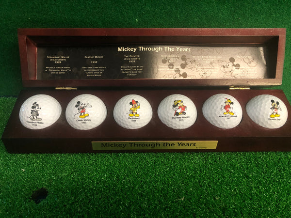 MICKEY THROUGH THE YEARS GOLF BALL COLLECTION