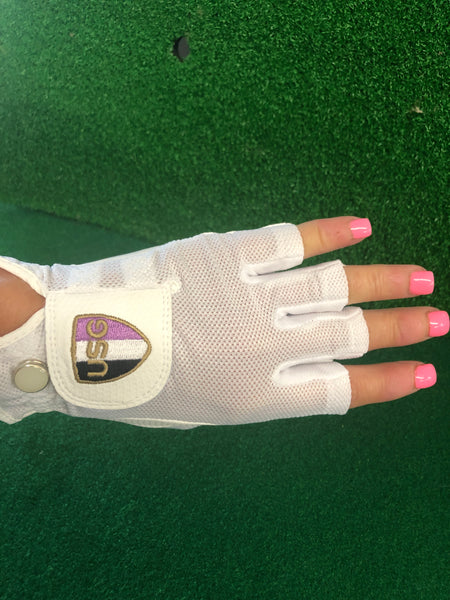 Ladies Shorty Half Finger Glove