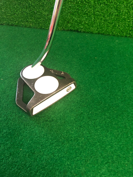 Gary Sheffield Odyssey Backstrike 2-ball Putter Used
