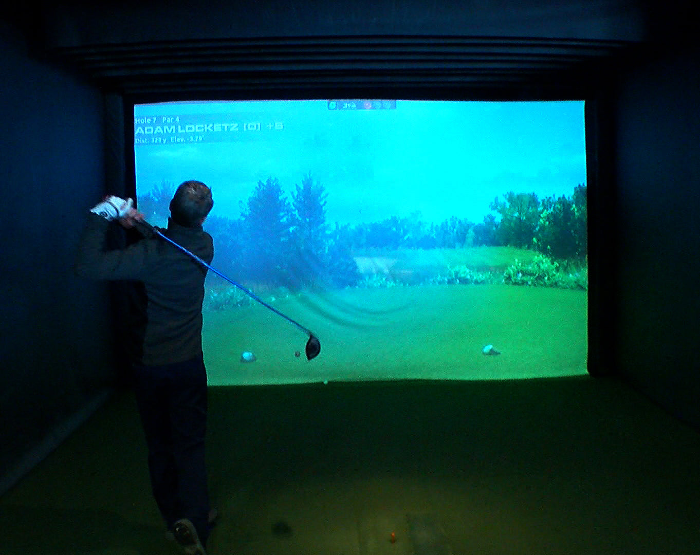 Golf Simulator Room - Driving Range