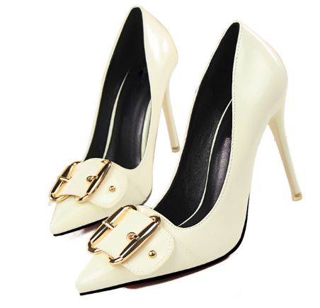 Scarpin Stiletto Boucle Pricae - Salto 10 CM