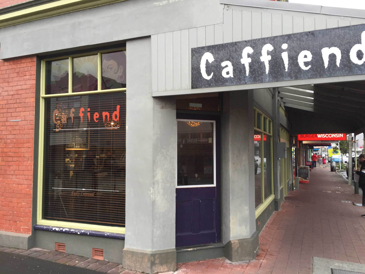 """Caffiend"