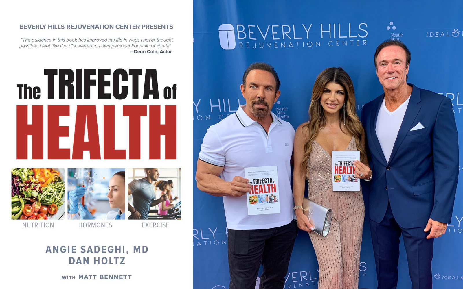 The Triffecta of Health Book; Dan Holtz, Angie Sadeghi MD, Devon Haman