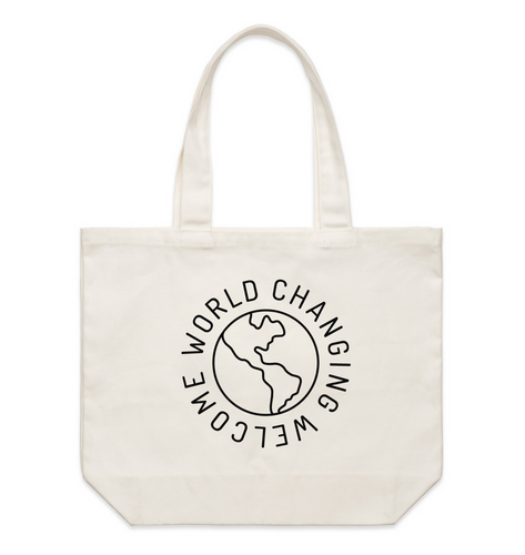 World Changing Welcome Tote