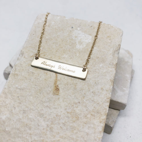 Always Welcome Necklace
