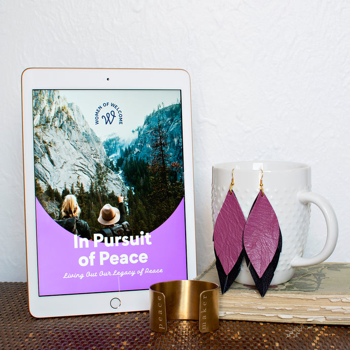 In Pursuit of Peace Study Jewelry Set